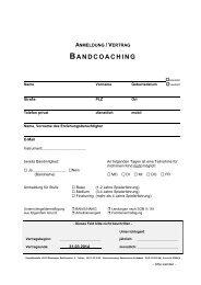 Anmeldung Bandcoaching 2013 - Wiesbadener Musik