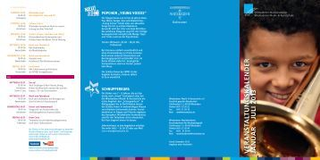 Veranstaltungskalender 1. Halbjahr 2013 - Wiesbadener Musik