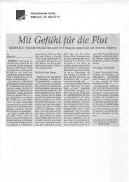 Vorbericht Klavierabend Patricia Hase, Wiesbadener Kurier 22.05.13
