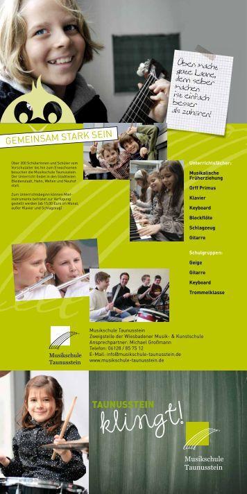 Musikschule Taunusstein - Wiesbadener Musik