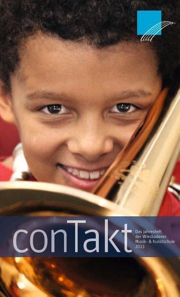 conTakt-Magazin 2012/2013 - Wiesbadener Musik