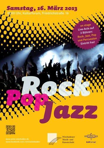 RockPopJazz-Fest 2013 - Wiesbadener Musik
