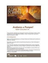 [PDF] Andiamo a Pompei- Teacher Notes ... la - Museum Victoria