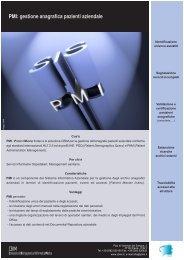CBIM PMI: gestione anagrafica pazienti aziendale - Consorzio di ...