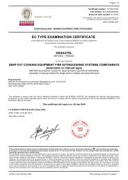 EC TYPE EXAMINATION CERTIFICATE - France Air