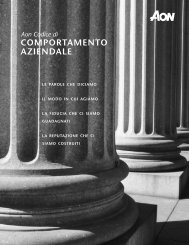 Aon Codice di Comportamento aziendale