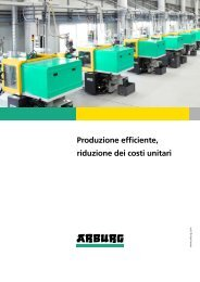 Produzione efficiente, riduzione dei costi unitari - Arburg