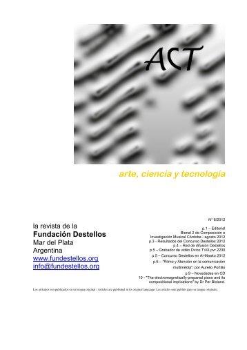 arte, ciencia y tecnología - Fundestellos.org