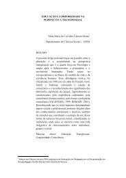 EDUCAÇÃO E CORPOREIDADE NA ... - CCHLA/UFRN