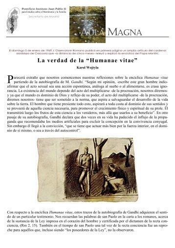 AULA MAGNA - Pontificio Instituto Juan Pablo II