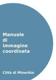 Manuale di immagine coordinata - Comune di Minerbio