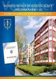 Sonderausgabe zur Vertreterwahl 2010 - Wohnungsgenossenschaft ...