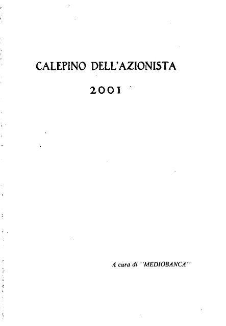 2001 Archivio Storico Vincenzo Maranghi