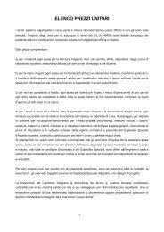 ELENCO PREZZI UNITARI - Comune di Rimini