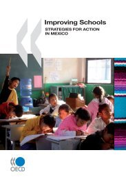 Improving Schools: Strategies for Action in Mexico - OECD Online ...
