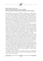 Recensioni - Pontificia Università Urbaniana