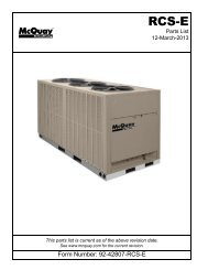 RPL: RCS 06-20E, R22 Condensing Unit, Air-Cooled Split System