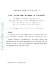 Download PDF via arXiV.org - Laboratoire de Physique Théorique ...