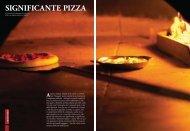 SIGNIFICANTE PIZZA - Vandenberg Edizioni