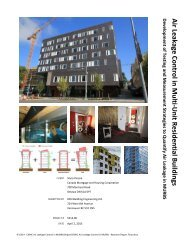 Air Leakage Control in Multi-Unit Residential Buildings [PDF] - 3571KB