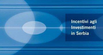 Incentivi agli Investimenti in Serbia - Siepa