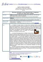 Proposition de sujet de thèse CIFRE_IM2NP & CROSSLUX_PhT