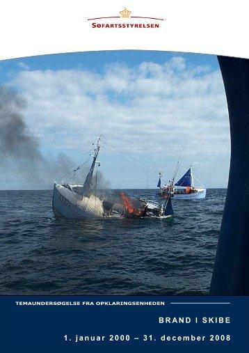 Tema brand i skibe - Søfartsstyrelsen