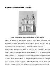Contesto culturale e storico - Parrocchia San Michele Arcangelo ...
