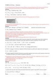 Verifica n°6-Statica dei Fluidi-Soluzioni-Fila A