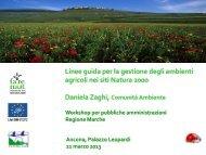 Presentazione di D. Zaghi, Comunità Ambiente - La mia terra vale