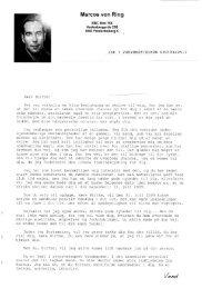 8 sider langt brev fra Marcos von Ring - Forbrugerbloggen.dk