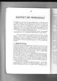 RAPPORT OM FRIMURERIET - Grunnlovens-vektere