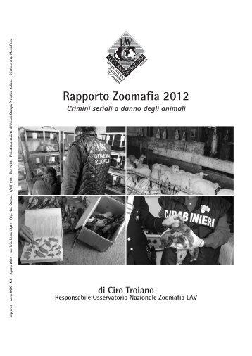 Rapporto Zoomafia 2012 - Lav