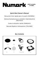 Quick Start Owner's Manual Manual de inicio rápido para el usuario ...