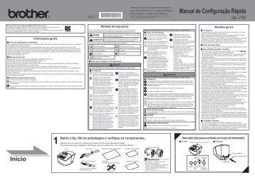 Manual de Configuração Rápida QL-700.pdf - Brother