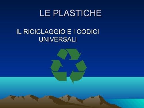 LE PLASTICHE
