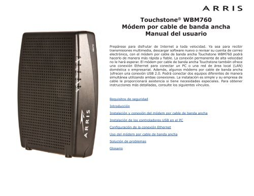 DRIVER UPDATE: ARRIS RNDIS CABLE MODEM