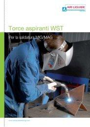 Torce aspiranti WST - Catalogo saldatrici SAF-FRO