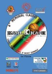 libretto ufficiale torneo - Insegnare Basket