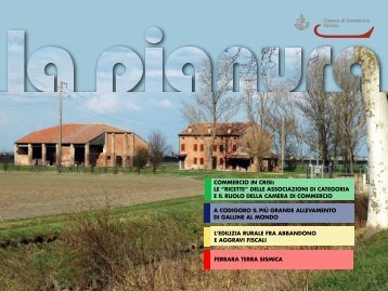 2012 n. 1 La Pianura - Camera di Commercio di Ferrara - Camere di ...