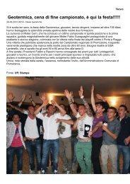 archivio news 01-06-2011 / 31-05-2012 - ACD Geotermica