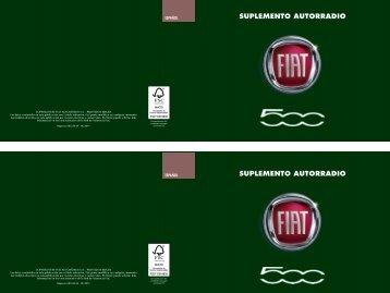 SUPLEMENTO AUTORRADIO SUPLEMENTO ... - Catalogo Fiat