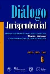 diálogo jurisprudencial - Instituto Interamericano De Derechos ...