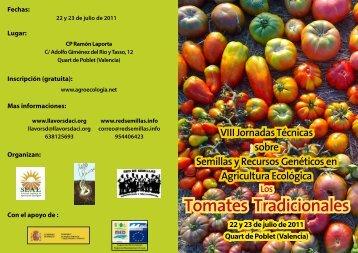 triptico-jornada-tomate - Red de Semillas de Aragón