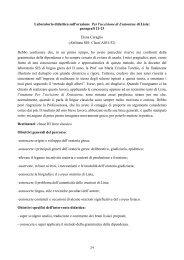 lavoro Prof.ssa Torchio - Provincia di Torino