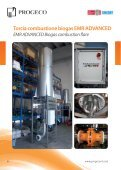Biogastreatment and combustion - Progeco srl - Page 6