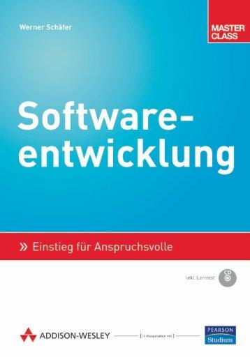 Softwareentwicklung  - *ISBN 978-3-8273-2851-9 ...