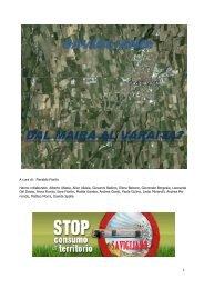 Scarica la mostra in formato pdf - Stop al consumo di territorio ...