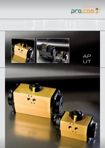 Download pdf - PRO.COM - Control Valves
