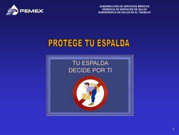 CAPSULA PROTEGE TU ESPALDA.pdf - PEMEX